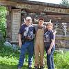 Gary, Steve Kroschel and I at Kroschel Wildlife Center.