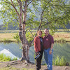 Gary and I at Tern Lake, on Seward Highway.