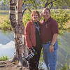 Gary and I at Tern Lake on Seward Highway.