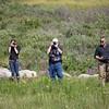 Brooke, Gary and Joe in the Yukon.  Joe was our guide.