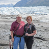 Gary and I in front of Matanuska Glacier outside of Palmer, Alaska.
