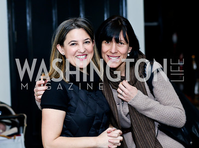 Nuria Clusella, Chiara Zanni Rich. Photo by Tony Powell. Petite Lucette Launch. Malmaison. March 21, 2014