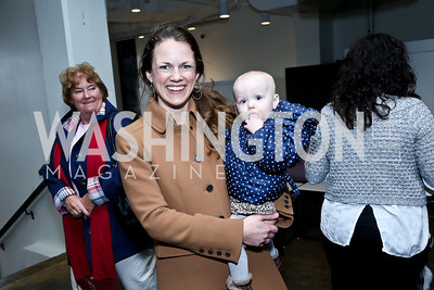Krista and Riley Weymouth. Photo by Tony Powell. Petite Lucette Launch. Malmaison. March 21, 2014