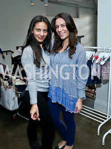Pari Bradlee, Alexia Minervini. Photo by Tony Powell. Petite Lucette Launch. Malmaison. March 21, 2014