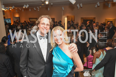 James Moore, Kara Moore, 2014 Annual Phillips Collection Gala, Friday May 16, 2014, Photo by Ben Droz