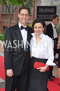 Rick Karp, Maria Pica Karp, 2014 Annual Phillips Collection Gala, Friday May 16, 2014, Photo by Ben Droz