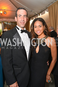 Andrew Martin, Katie Rost, 2014 Annual Phillips Collection Gala, Friday May 16, 2014, Photo by Ben Droz