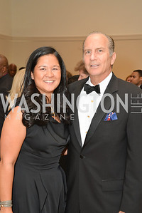 Trish Yan, Cliff Beek, 2014 Annual Phillips Collection Gala, Friday May 16, 2014, Photo by Ben Droz