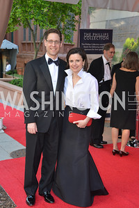 Rick Karp, Maria Pica Karp, 2014 Annual Phillips Collection Gala, Friday May 16, 2014, Photo by Ben Droz