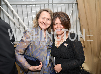 Laura Denise Bisogniero, Izette Folger, 2014 Annual Phillips Collection Gala, Friday May 16, 2014, Photo by Ben Droz