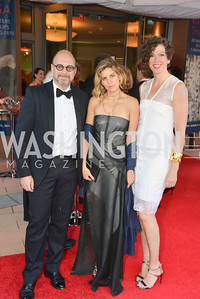 Peter Taub, Bianca Duenas, Stacey Van Praag, 2014 Annual Phillips Collection Gala, Friday May 16, 2014, Photo by Ben Droz