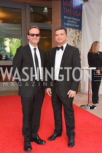 Andrew Comley, Carlos Belmont,2014 Annual Phillips Collection Gala, Friday May 16, 2014, Photo by Ben Droz