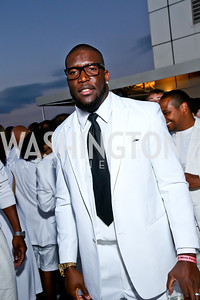 Washington Redskins Outside Linebacker Brian Orakpo. Photo by Tony Powell. Pierre Garçon's 2nd annual All-White Charity Event. Millenium building rooftop. June 5, 2014