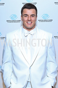 Washington Redskins Linebacker Ryan Kerrigan. Photo by Tony Powell. Pierre Garçon's 2nd annual All-White Charity Event. Millenium building rooftop. June 5, 2014