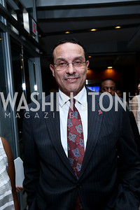 Mayor Vincent Gray. Photo by Tony Powell. Pierre Garçon's 2nd annual All-White Charity Event. Millenium building rooftop. June 5, 2014