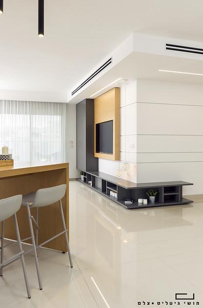 עבודות נגרות בדירה באשדוד. צולם עבור חברת פופלר מטבחים ונגרות