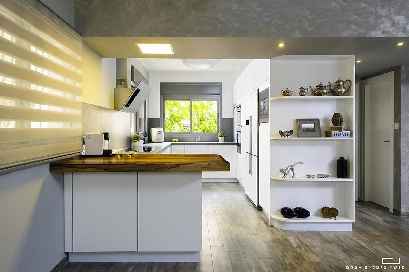 צילום אדריכלות: מטבח במודיעין. תכנון והקמה: פופלר מטבחים ונגרות