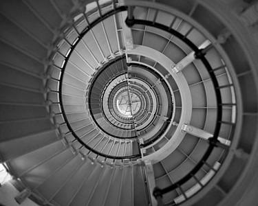 Staircase, Ponce Inlet Lighthouse, Daytona, Florida