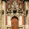 Intricate Wooden Door