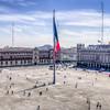 The Zocalo of Mexico City