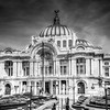 Palacio de Bellas Artes in Monochrome
