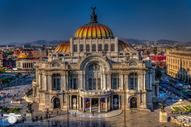 Palacio de Bellas Artes from the Sears Building