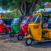 Gathering of Tuk Tuks