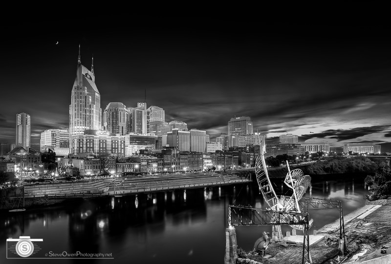 Nashville in Black & White 1