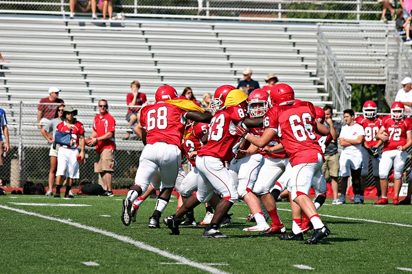 Sophomore Red & White Scrimmage