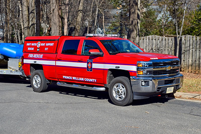 SW517 is cross-staffed by the crew from E517.  It receives a dedicated 4 person staffing in the event of flood warnings.