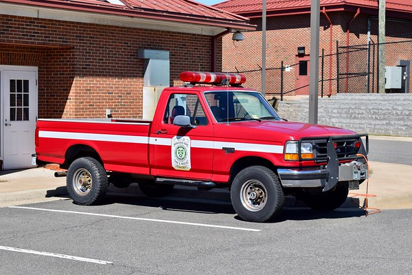 Utility 509 is a 1994 Ford F-250.  Former Brush 9.