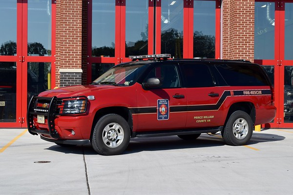 Utility 526 is a 2012 Chevy Suburban.  ex- Evergreen VFD Chief 515 and Prince William Utility 515B.