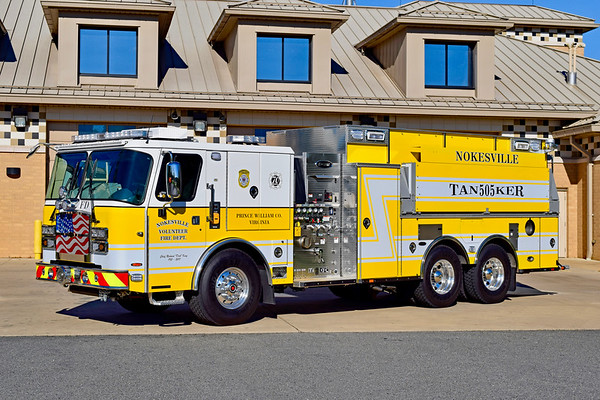 Tanker 505 is a unique 2018 E-One Cyclone II, 1250/3030, sn- 141601.  Built in Hamburg, NY.