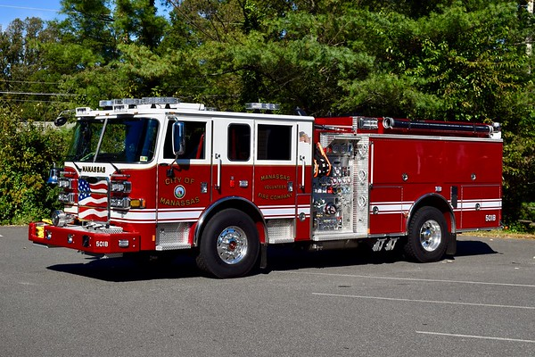 Engine 501B is a 2018 Pierce Arrow XT, 1500/750/40, sn- 31722.  Photographed shortly before going in service.
