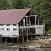 Cannery with old boiler, Butedale, Princess Royal Island, mid-coast British Columbia