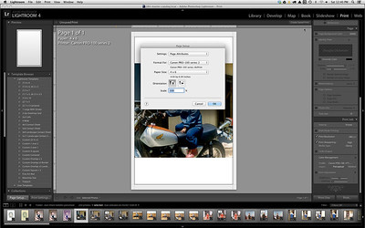 printing from lightroom and photoshop