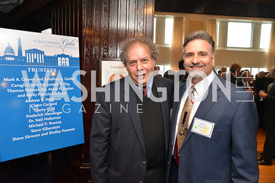 John Richard, Steve Skrovan, Public Citizen Gala, National Press Club, Wednesday, May 14, Photo by Ben Droz