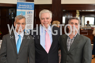 Joe Stoshak, Michael Rooney, Brian VanFleet, Public Citizen Gala, Wednesday, May 14, Photo by Ben Droz