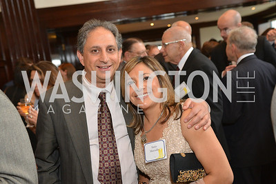 Cyrus Mehri, Sarju Marzullo, Public Citizen Gala, National Press Club, Wednesday, May 14, Photo by Ben Droz