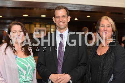 Kristin Cabral, Robert Weissman, Kris Juffer, Public Citizen Gala, National Press Club, Wednesday, May 14, Photo by Ben Droz