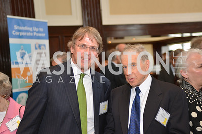 Dan Edelman, George Zelcs, Public Citizen Gala, National Press Club, Wednesday, May 14, Photo by Ben Droz