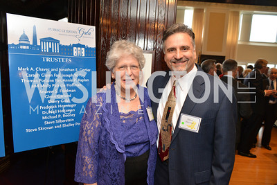 Joan Claybrook, Steven Skrovan, Public Citizen Gala, National Press Club, Wednesday, May 14, Photo by Ben Droz