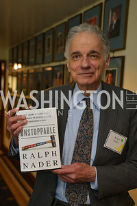 Ralph Nader, Public Citizen Gala, National Press Club, Wednesday, May 14, Photo by Ben Droz