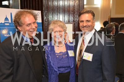 Joan Claybrook, Steven Skrovan, John Richard, Public Citizen Gala, National Press Club, Wednesday, May 14, Photo by Ben Droz