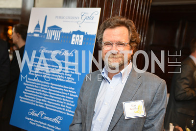 Matt Wuerker, Public Citizen Gala, National Press Club, Wednesday, May 14, Photo by Ben Droz