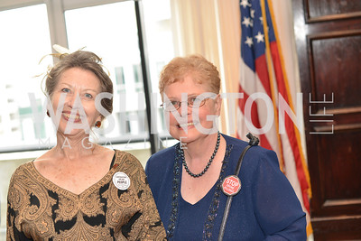 Mary Liepold, Luann Mostello, Public Citizen Gala, National Press Club, Wednesday, May 14, Photo by Ben Droz