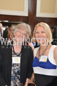 Kathy Tillman, Tracie Becker, Public Citizen Gala, National Press Club, Wednesday, May 14, Photo by Ben Droz