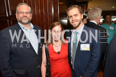 Lisa Gilbert, Colin O'Neil, Shane Larson, Public Citizen Gala, National Press Club, Wednesday, May 14, Photo by Ben Droz