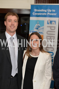 Christopher Regan, Nicole Schneider, Public Citizen Gala, National Press Club, Wednesday, May 14, Photo by Ben Droz