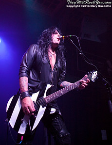 Quiet Riot performs at the Casino Ballroom in Hampton Beach, N.H. on July 25, 2014